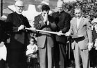Art print POSTER Danny Thomas and Clergy at St. Jude's Hospital Groundbreaking