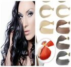 16''-22'' Nano Ring Micro Beads Double Drawn Remy Human Hair Extensions 50g 100g