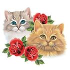 Cats & Red Roses Tshirt   Sizes/Colors