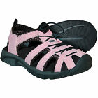 Itasca SPRING HARBOR Womens Pink Bungee Lace Sport Water Sandals