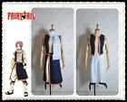 Free Shipping Fairy Tail Natsu Dragneel Cosplay Costume Custom Made