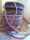 """UK stock Gift Sale 3/8"""" (9mm) Gift wrap Minnie Mouse GROSGRAIN Printed Ribbon"""