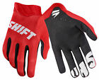 Shift Racing Red/Black/White Black Label Air Mainline Dirt Bike Gloves MX ATV