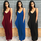 Gift Women Sexy Off-Shoulder Summer Maxi Long Dress Sleeveless Party