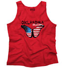Oklahoma State Americana Patriotic Butterfly Cute Gift Ideas Tank Top Shirt