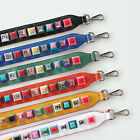 Square Block Jewel Embellished Strap You / Peekaboo Handbag Straps in 6 Colors