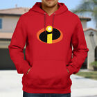 The Incredibles Mr Logo Symbol Costume Hooded Sweater Jacket Pullover Hoodie