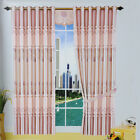 HIGA Lovely Pink 1 Pc Jacquard Sun Shade Blackout Window Curtains/Panels
