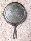 RARE Griswold Cast Iron #5 Large Block Logo Skillet with Heat Ring PN 724