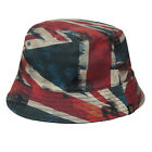 Pretty Green Reversible Navy Union Jack Bucket Hat Liam Gallagher Oasis