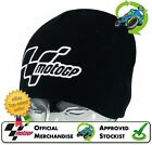 NEW OFFICIAL MERCHANDISE GENUINE MOTOGP BEANIE HAT CLASSIC BLACK MOTO GP RANGE