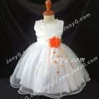 #NLO8 Baby Infant Girl Wedding Pageant Prom Cocktail Birthday Party Gown Dress