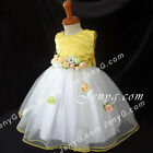 #CFY7 Baby Infant Baptism Birthday Cocktail Evening Party Birthday Gown Dress