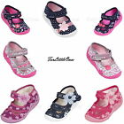 New baby toddler Girls canvas shoes slippers casual trainers sandals 3 4 5 6 7 8