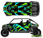 Polaris 4 RZR 800 xp Design Retro Decal Graphic Kit Wraps Hood Scoop