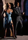 Art print POSTER Sean Connery and Daniela Bianchi in Movie Still $23.99 USD