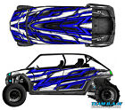 Polaris 4 RZR 800 xp Design MXVEC 015 Decal Graphic Kits Wraps Hood Scoop