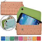 Convertible Aztec Smart-Phone Wallet Case Cover & Evening Clutch MLUC32