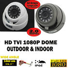HD TVI 1080P CCTV Dome 3.6mm Wide Angle outdoor 35M Night vision security Camera