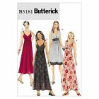 Butterick 5181 Bohemian Maxi Summer Dress Straps Sewing Pattern B5181 4 in 1!