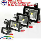 10W 20W 30W 50W PIR Motion Sensor Outdoor LED Floodlight Flood Wash Light Lamp