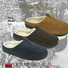 COOLERS MENS CLOG MULE STYLE SLIPPERS FAUX FUR LINNING