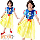 Snow White Girls Fancy Dress Disney Princess Fairytale Book Childrens Costume