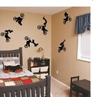 Motocross Wall Art Vinyl Stickers Decal Home Decor
