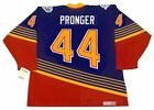 CHRIS PRONGER St. Louis Blues 1997 CCM Vintage Throwback Away NHL Hockey Jersey