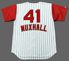 JOE NUXHALL Cincinnati Reds 1960's Majestic Throwback Home Baseball Jersey on Ebay
