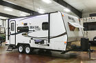 2015 Flagstaff Micro Lite 21FBRS Slide Out Used Travel Trailer Camper For Sale