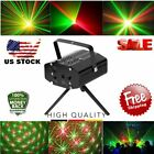 New Mini Projector DJ Disco Light Stage R&G Party Laser Lighting Show BP