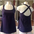 Lululemon Size 10 Or Large Dark Purple Top Excellent Condition
