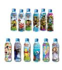 WATER BOTTLE WRAPS LABELS FOR KIDS - PACK OF 3 SLEEVE - DISNEY , NICKELODEON