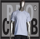 1 New Mens Pro Club Heavyweight Heather Gray Blank T Shirt M to 3XL PROCLUB
