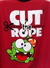 nom nom cut the rope - Cut The Rope Mens TShirt 2XL Om Nom Figure Character App Video Game Zeptolab NWT