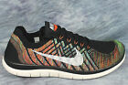 Nike Free 4.0 Flyknit Men's Running / Athletic Shoes Multiple Sizes 717075 011