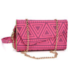 Convertible Aztec Smart-Phone Wallet Case Cover & Crossbody Clutch MLUC17