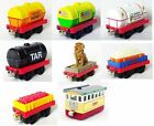 LC&Mattel Diecast Thomas and Friends Take-n-Play Low Cargo Cars/Jet Fuel Tankers