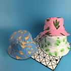 New Grass&Flower Style Women Fashion Casual Bucket Hats Camping Casual Cute