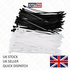 100 x Cable Ties Nylon Plastic Black Natural All Sizes