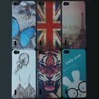 Butterfly Tiger Girl Rabbit Wolf UK US Back hard case cover For Huawei Honor 6