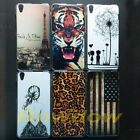 1 pcs Eiffel Tower Butterfly US UK Tiger back hard case cover For Lenovo S850