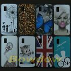 Back hard Clear case cover For For LG Google Nexus 4 E960  + Screen Protector
