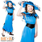 Victorian Lady Girls Fancy Dress Rich Girl Childrens Book Character Kids Costume
