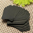 100x Kraft Paper Wedding Party Card Gift Bookmark Label Luggage Blank Tags CA