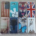 Butterfly Rabbit Back hard Case cover for Samsung galaxy Core 2 II G355H G355