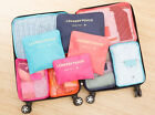 Travel - 9Pcs Waterproof Clothes Storage Bags Packing Cube Travel Luggage Organizer Pouch