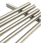 Megastore247 1x M6/6mm Threaded Bar/Rod in A2 Stainless Steel 100mm 1.00mm