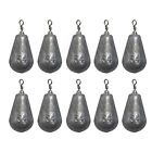 Pear Bomb CNC Metal Sinkers Boating Fishing Tackle Fishing Lead Multi Weights
